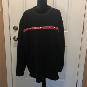 Tommy Hilfiger XXL Black Sweatshirt